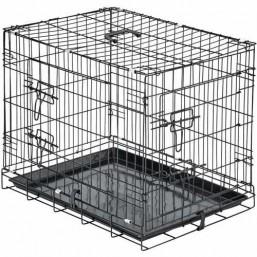 Метална сгъваема клетка 78х49х56.5 см
