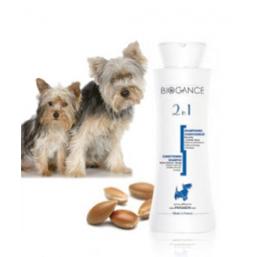 Biogance 2 in 1 шампоан 250 мл антистатичен шампоан с балсам