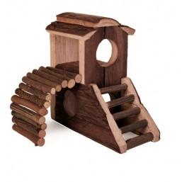 Замък за мишки и хамстери 17х17х10cm.