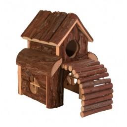 Къща за хамстер лукс 13х20х20cm.