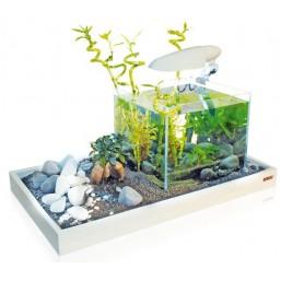 Поставка за аквариум бяла 50x43x7cm.