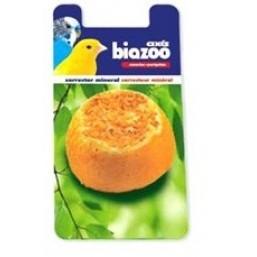 Портокалово минерално камъче, предназначено за канарчета и вълнисти папагалчета.