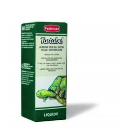 Tartabel_x000D_ Омекотяващ лосион за почистването на очите на костенурките със подути или затворени клепачи. Почистете очите със памук посиппан със лосиона. Расклатете преди употреба.