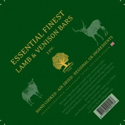 ESSENTIAL FINEST LAMB & VENISON BARS 3 бр