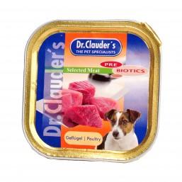 Dr.Clauder Selected Meat Geflugel Pre Biotics 100 гр. - пиле