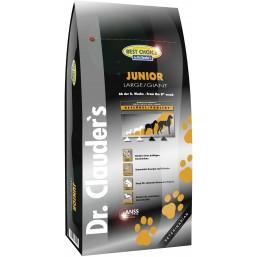 Dr.Clauder Best Choice Super Premium Junior LB/Giant 12.5кг – Супер премиум суха храна за подрастващи кучета от големи и много големи породи от 25кг. от 8-мата седмица