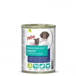 Nature Care Diet Dog STRUVITE & CALCIUMOXALATE 400гр. Консервирана, лечебна храна за кучета с проблеми в уринарния тракт, склонни към образуване на уринарни камъни