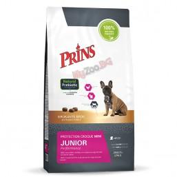 Prins Mini Protection Croque  Junior Performance 2кг. Екструдирана храна за млади  кучета от малки породи, на възраст над 4 седмици.