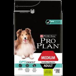 Pro Plan Adult Medium Sensitive Digestion 14 кг.- с агнешко месо и ориз, за кучета средни породи / 10-25 кг. / , над 12 месеца