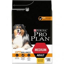 Pro Plan Adult Medium 14 кг. - с пилешко месо, за кучета средни породи / 10-25 кг. / над 12 месеца