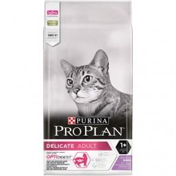 Pro Plan Delicate 10 кг. с пуйка и ориз, за котки от 1 до 7 години с чуствителна храносмилателна система