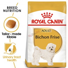Royal Canin Bichon Frise Adult 1.5кг Пълноценна храна за кучета - Специално за френски болонки в зряла възраст - Над 10 месеца