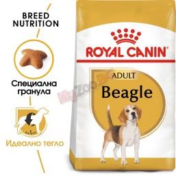 Royal Canin Beagle Adult 3кг Пълноценна храна за кучета - специално за възрастни и застаряващи кучета от породата бигъл - над 12-месечна възраст.