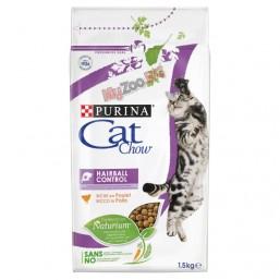 Cat Chow Special Care Hairball Control 1.5кг. - за контрол образуването на космените топки в стомаха, за котки над 12 месеца
