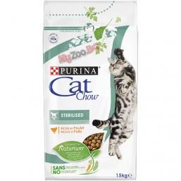 Cat Chow Special Care Sterilised 1.5кг. - пълноценна храна за кастрирани котки над 12 месеца