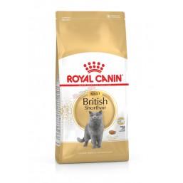 Royal Canin British Shorthair Adult 10кг. Балансирана и пълноценна храна за котки - Специално за британски късокосмести котки в зряла възраст - Над 12 месеца.
