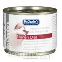 Dr.Clauder Kidney Diet 200гр.- терапевтична диетична храна за котки с хронична бъбречна недостатъчност