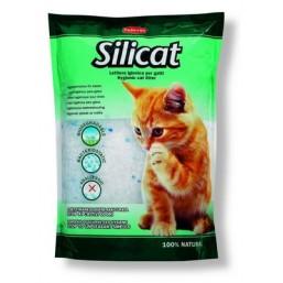 Silicat_x000D_ Високоефективна котешка постелка, задоволяваща нуждите на една котка. Нетоксична, изцяло разграждаща се, безвредна за хората, животните и природата. Елиминира изцяло неприятните миризми.