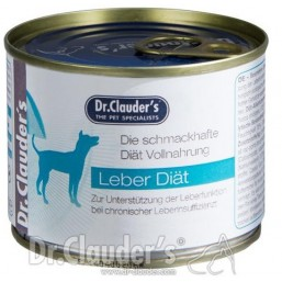 Dr.Clauder Super Premium Liver Diet 400гр.- терапевтична диетична храна за кучета с хронична чернодробна недостатъчност