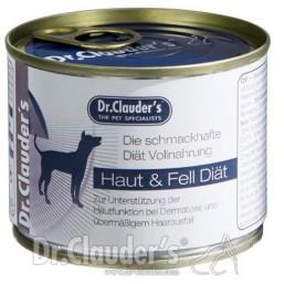 Dr.Clauder Super Premium FSD Fur and Skin Diet 400гр.- терапевтична диетична храна за здрави кожа и козина при кучета с дерматити