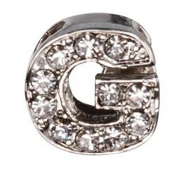 Декоративна буква с брилянти -G