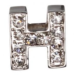 Декоративна буква с брилянти -H