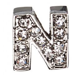 Декоративна буква с брилянти -N