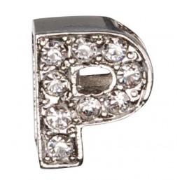 Декоративна буква с брилянти -P