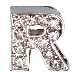 Декоративна буква с брилянти -R