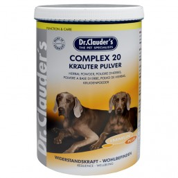 Dr.Clauder Complex 20 Krauter Pulver - Комплекс от 20 билки на прах