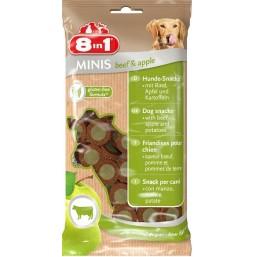 8in1 Minis – лакомство за кучета със говеждо месо и ябълка