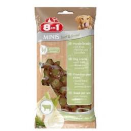 8in1 Minis – лакомство за кучета с говеждо месо и копър 100 гр