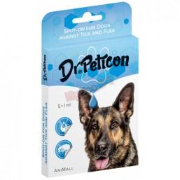 Dr. Peticon Spot on Dog - BIO противопаразитни пипети L 3 ml. - над 40 кг - BIO продукт Унгария