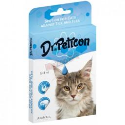 Dr. Peticon Spot on Cat - BIO противопаразитни пипети 1 ml - BIO продукт Унгария
