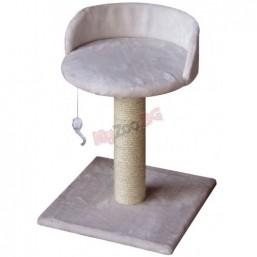 Драскалка ASTI 30x30x45 см - кремав, NOBBY