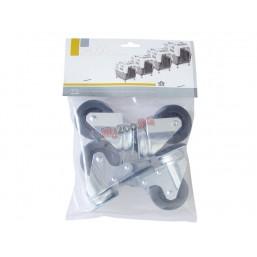 Комплект колела за транспортни чанти Nobby SKUDO 4, 5, 6 и 7 - 4 бр NOBBY
