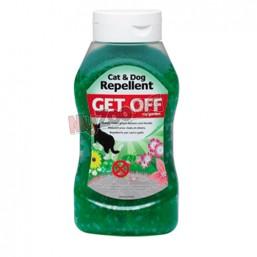 Репелентен гел за отблъскване кучета и котки за дома и градината GET OFF gelee 450 гр
