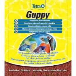 Sachet Tetra Guppy - храна за риби гупи 12гр.