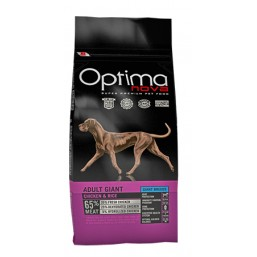 OPTIMA NOVA ADULT GIANT CHICKEN&RICE 12 кг.65% месо / пиле и ориз / Суперпремуим храна за кучета хипоалергична GMO FREE
