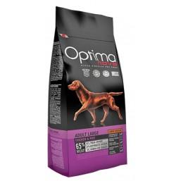 OPTIMA NOVA ADULT LARGE CHICKEN&RICE 12 кг 65% месо / пиле и ориз / Суперпремуим храна за кучета хипоалергична GMO FREE